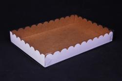 Набор (из 5шт) Коробка-трансформер с волнистым краем 22*15*3 А1.0