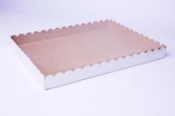 Набор (из 5шт) Коробка-трансформер с волнистым краем 23,5*30*3 А3.0