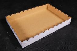 Набор (из 5шт) Коробка-трансформер с волнистым краем Крафт А1.1