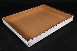 Набор (из 5шт) Коробка-трансформер с волнистым краем Крафт А3.1
