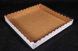 Набор (из 5шт)-Коробка-трансформер с волнистым краем Крафт  А2.1