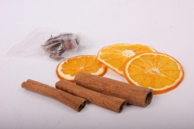 Набор (корица, бадьян, апельсин) в пакете