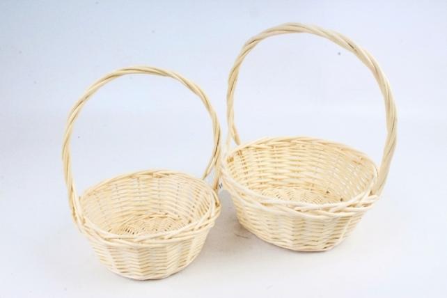 Набор корзин плетеных (ива), 2 шт  3005