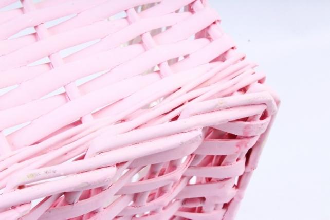 Набор корзин плетеных (ива) из 3шт -  Белый 5909