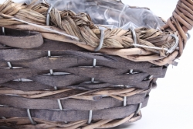 Набор корзин плетеных (ива) из 3шт -  Овал медовый   2762