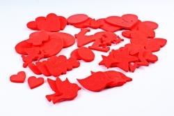 Набор красных фигурок ( 49 штв уп) ЭЛ-05