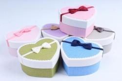 Набор одиночных коробок (6 шт в уп) - Сердце