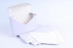 Набор одиночных коробок-трансформеров (10 шт в уп) - Конверт бледно-сиреневый