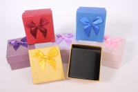 Набор одиночных подарочных коробок из 6шт - Квадрат - Ассорти 7,5*7,5*5см
