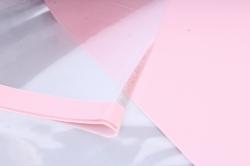 """Набор пленки """"Для Розы"""" 10листов, 60см*60см нежно-розовый"""