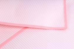 """Набор пленки """"полосы"""" 10листов, 60см*60см нежно-розовый"""