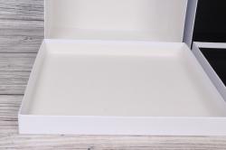 Набор подарочных коробок из 10 шт -  № 71 Квадрат 10 шт. Белый КТ 28,2см*28,2см*15см  Пин71БКТ