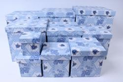 Набор подарочных коробок  из 10 шт - КУБ Азулежу  SY601-1261