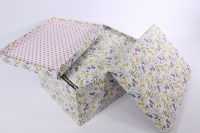 Набор подарочных коробок из 10шт (Прямоугольник) Лилии