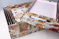 """Набор подарочных коробок из 15 шт. Разноразмерные. """"Прямоугольные Мишки""""  42х33х17см"""