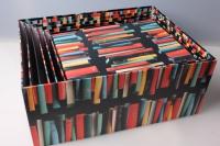 """Набор подарочных коробок из 15шт. Разноразмерные. """"Прямоугольные Книги""""  42х33х17см"""