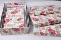 """Набор подарочных коробок из 4шт. """"Прямоугольные №7"""" 30х20х8см"""