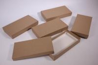 Набор подарочных коробок из 5 шт (Прямоугольник) КРАФТ Пин22-К