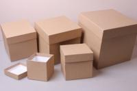"""Набор подарочных коробок из 5шт. """"КУБ №2  КРАФТ"""""""