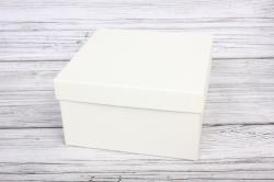 Набор подарочных коробок из 3шт - Квадрат № 75 ЛЮКС Слоновая кость 19,5см*19,5см*11см  Пин75СК/Люкс