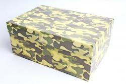 """Набор подарочных коробок из 10шт - Прямоугольник """"Хаки""""   4021363  (М)"""