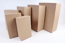 Набор подарочных коробок из 6шт - Прямоугольник КРАФТ Пин81К