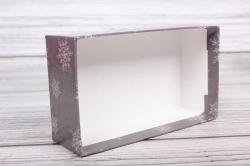 Набор подарочных коробок из 3шт - Прямоугольник НГ №107 С Наступающим НГ! 17,5*10,5*6,5 Пин107НГ-10