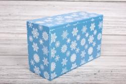 Набор подарочных коробок из 6шт - Прямоугольник НГ № 106  Снегирь 32*20*13см Пин106НГ-24
