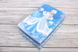 Набор подарочных коробок из 6шт - Прямоугольник НГ № 106  Снегурочка 32*20*13см Пин106НГ-21