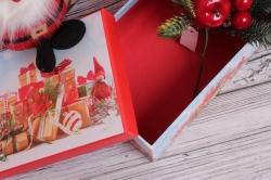 Набор подарочных коробок из 10шт - Прямоугольник НГ Гномик и подарки 37*29*16см  N130