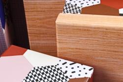 """Набор подарочных коробок из 10шт - Прямоугольник """"Паттерн"""" SY605-1413"""