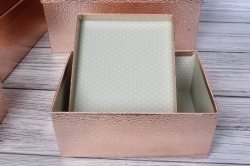 """Набор подарочных коробок из 10шт - Прямоугольник """"Розовый"""" 37*29*16см SY605-PINK"""