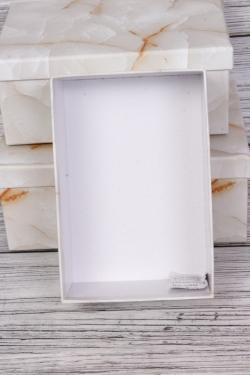 """Набор подарочных коробок из 3шт - Прямоугольник  """"Оникс"""" 23*16.5*9.5  SY7486-3"""