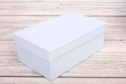 Набор подарочных коробок из 3шт - Прямоугоник  №74 Голубой 23*16*9,5см   Пин74Гол