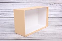 Набор подарочных коробок из 3шт - Прямоугоник  №74 Карамель 23*16*9,5см   Пин74-Кар