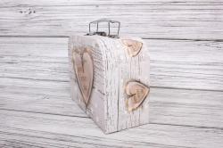 """Набор подарочных коробок из 3шт - СУНДУЧЕК  """"Сердца"""" 30*21*9,5см  SY8024-310"""