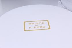 Набор подарочных коробок из 3шт- Круг белый К91