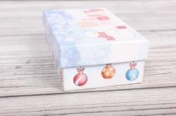 Набор подарочных коробок из 3шт -  НГ №107 Счастливого Нового Года!  17,5*10,5*6,5 Пин107НГ-3