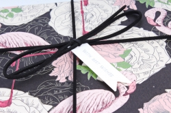 Набор подарочных коробок из 3шт- Прямоугольник фламинго Р152
