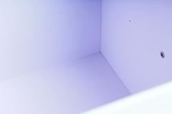 """Набор подарочных коробок из 5шт-Прямоугольник """"Герберы"""" с метал. ручками  6739"""