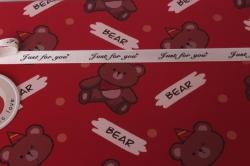 Набор подарочных коробок  из 3 шт - Прямоугольник Медвежата 29*22*13см В494