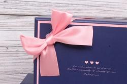 Набор подарочных коробок  из 3шт - Прямоугольник  Синий 18*14*11
