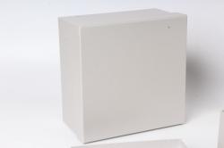 Набор подарочныз коробок из 3шт - Квадрат № 75 Серебро 19,5см*19,5см*11см  Пин75-СР