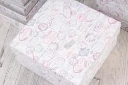 Набор подарочныз коробок из 10шт - Квадрат № 71 Штампы 28,2см*28,2см*15см  Пин71ШТ