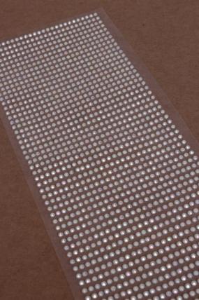 Наклейки на листе 3 мм розовые граненые перламутр по 1404шт DZ3AB-43