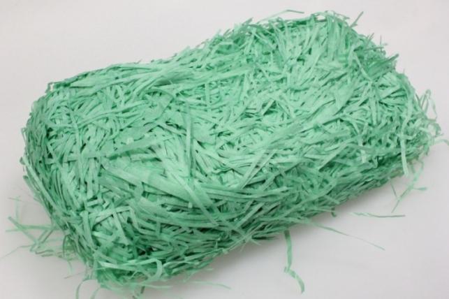 Наполнитель 100гр бумажный Зеленый №24