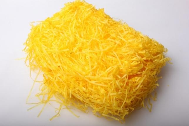 Наполнитель бумажный (30гр) - желтый