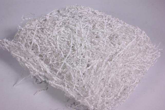 Наполнитель бумажный (ВОЛНА) Белый (01) 100ГР