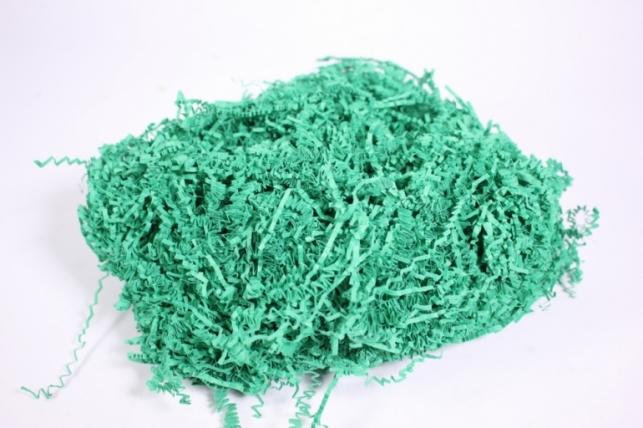 Наполнитель бумажный (ВОЛНА) Темно-зеленый (38) 100ГР