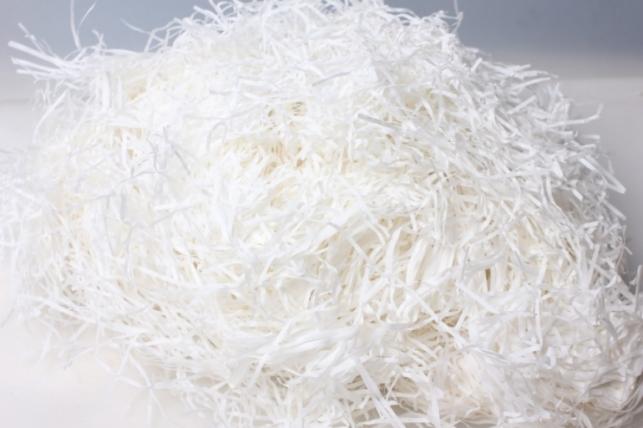 Наполнитель для коробок бумажный Белый 100гр/упак